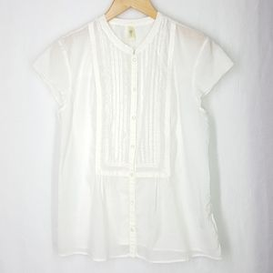 Old navy blouse, size Xlarge, white top, blouse.